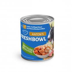 Lachs/Geflügel Bowl mit...