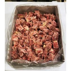 Pferdemuskelfleisch 5kg in Würfel gefroren